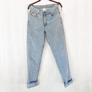 Western Style Vintage Mom Jeans